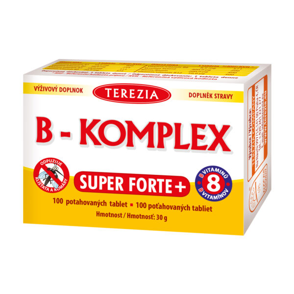 B-KOMPLEX super forte+ 20 tablet 1