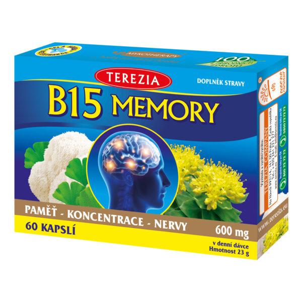 B15 MEMORY 60 kapslí 1