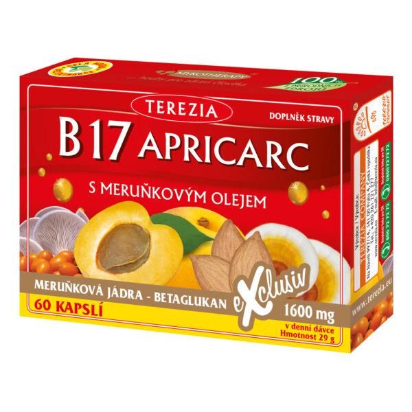 B17 APRICARC s meruňkovým olejem 60 kapslí 1