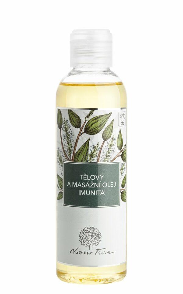 Tělový a masážní olej Imunita 200ml 1