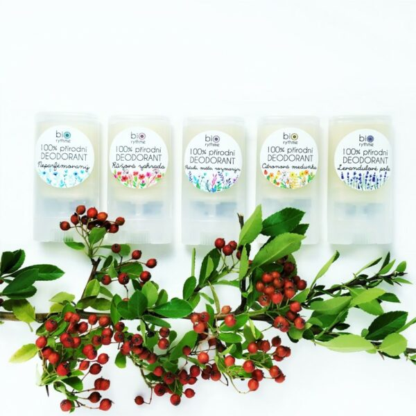 100% přírodní deodorant Růžová zahrada (malý) 3