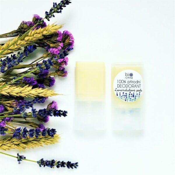 100% přírodní deodorant Levandulové pole (malý) 2