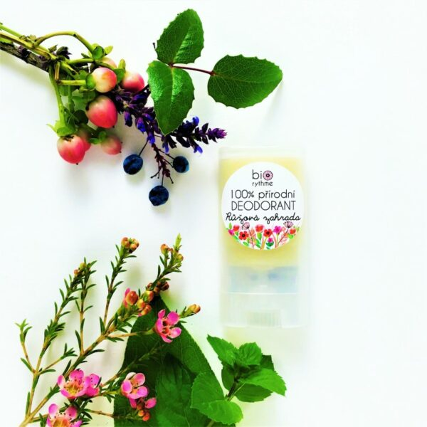 100% přírodní deodorant Růžová zahrada (malý) 2