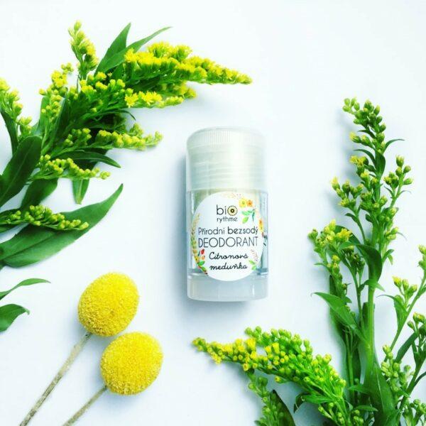 Přírodní BEZSODÝ deodorant Citronová meduňka (velký) 2