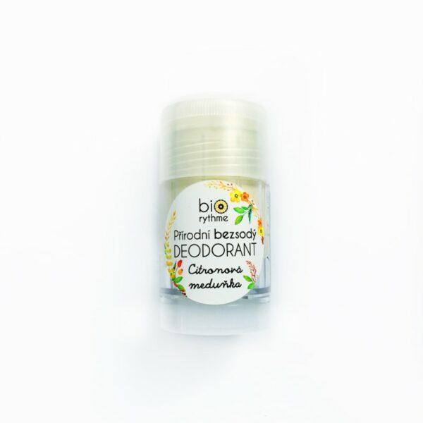 Přírodní BEZSODÝ deodorant Citronová meduňka (velký) 1