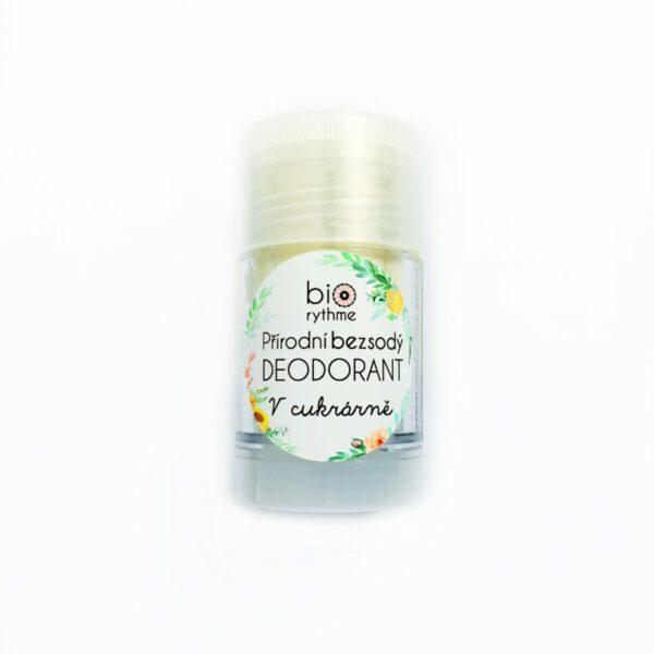 Přírodní BEZSODÝ deodorant V cukrárně (velký) 1