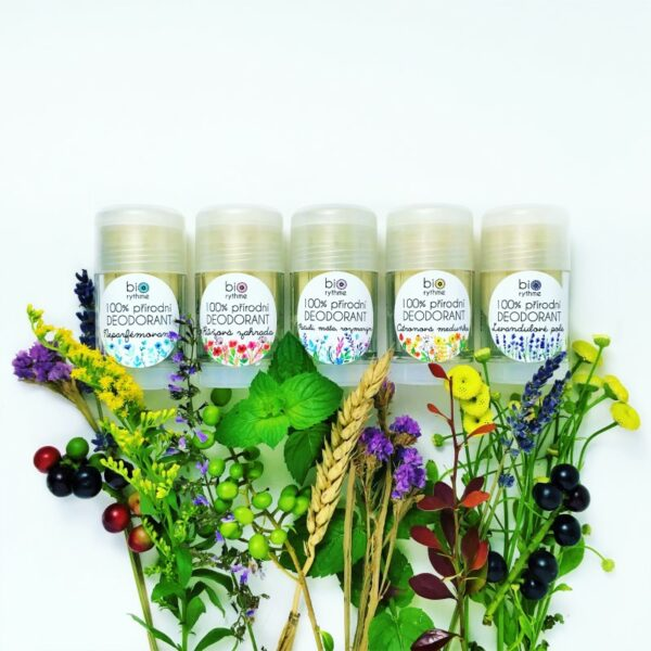 100% přírodní deodorant Neparfémovaný (velký) 3
