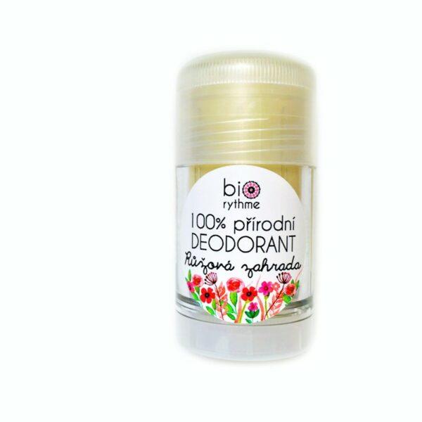100% přírodní deodorant Růžová zahrada (velký) 1