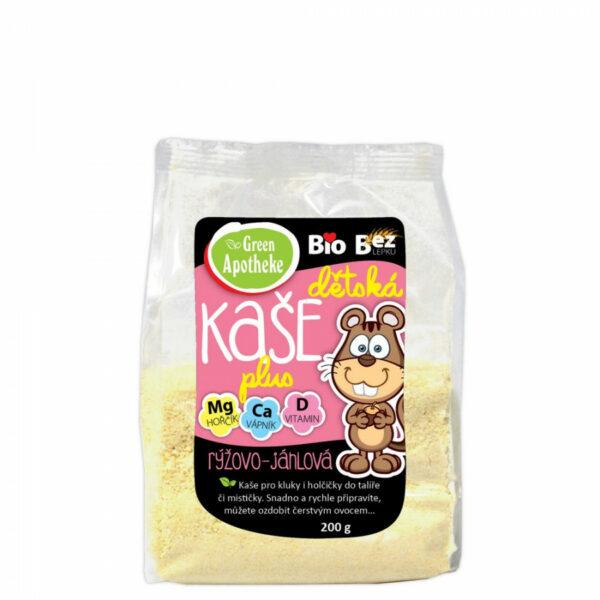 Kaše Dětská rýžovo-jáhlová BIO 200g 1