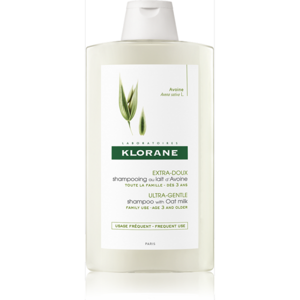 Klorane Šampon s ovesným mlékem 400ml 1