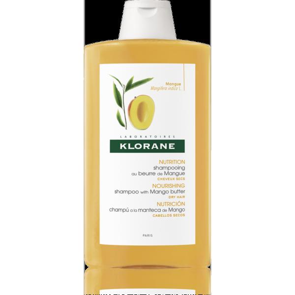 Klorane Šampon s mangovým máslem 400ml 1