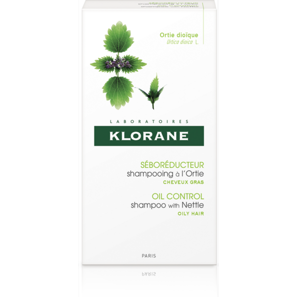 Klorane Šampon s výtažkem z kopřivy 200ml 2