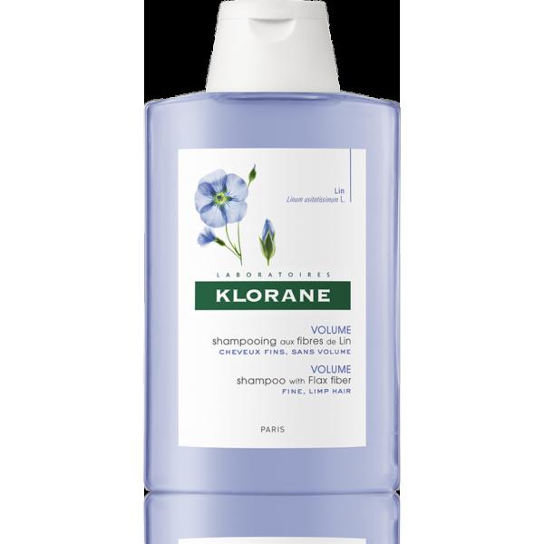 Klorane Šampon s lněnými vlákny 200ml 1