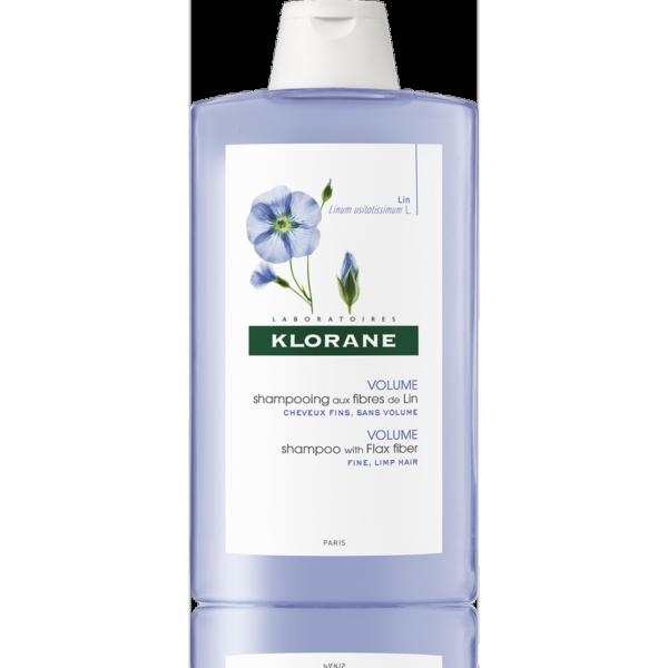 Klorane Šampon s lněnými vlákny 400ml 1