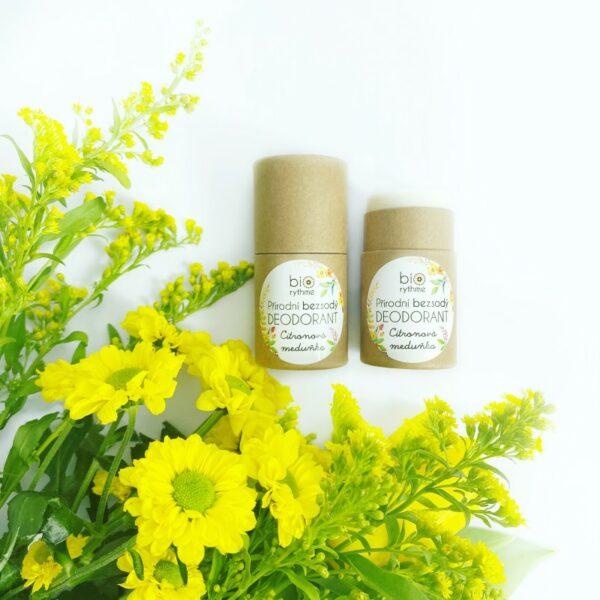 Papírový obal: BEZSODÝ deodorant Citronová meduňka 3
