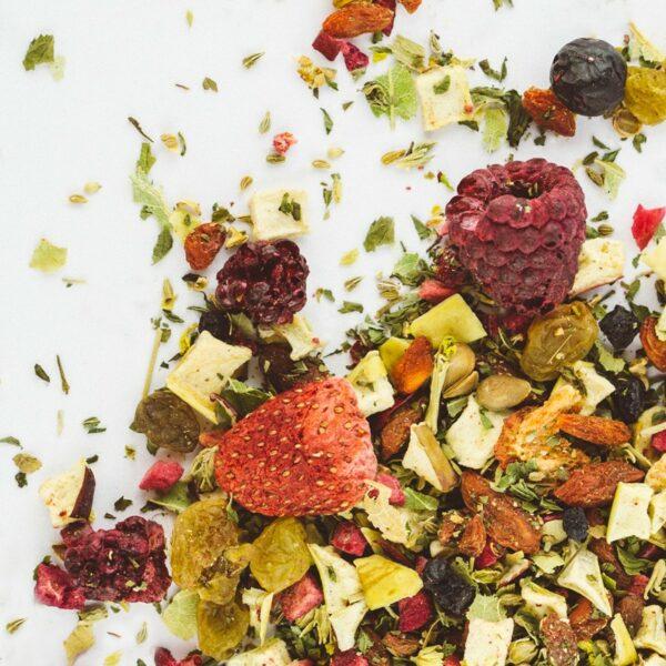 Čajová směs Ovocná s bylinami 50g 1