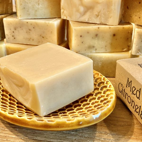 Zdravovláska med a citronella šamponové mýdlo 105g 1