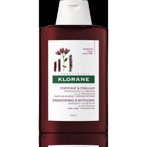 Klorane Šampon s chininem a vitaminy B 200ml 1