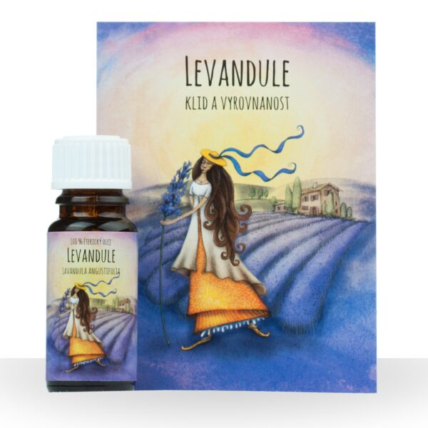 Éterický olej Levandule 10ml 1