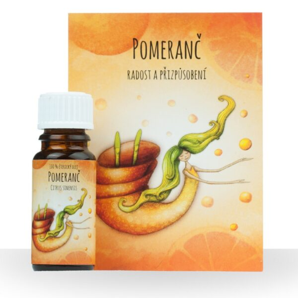 Éterický olej Pomeranč sladký 10ml 1