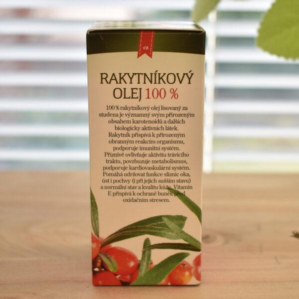 Rakytníkový olej 100 % 50ml 4