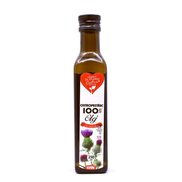Ostropestřec 100% olej 250 ml 1