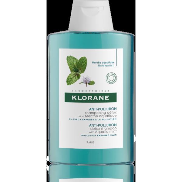 Klorane Detox. šampon s mátou vodní 200ml 1