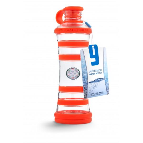 I9 láhev oranžová- inspirace 650ml sklo 2