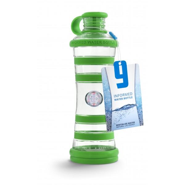I9 láhev zelená- harmonie 650ml sklo 2