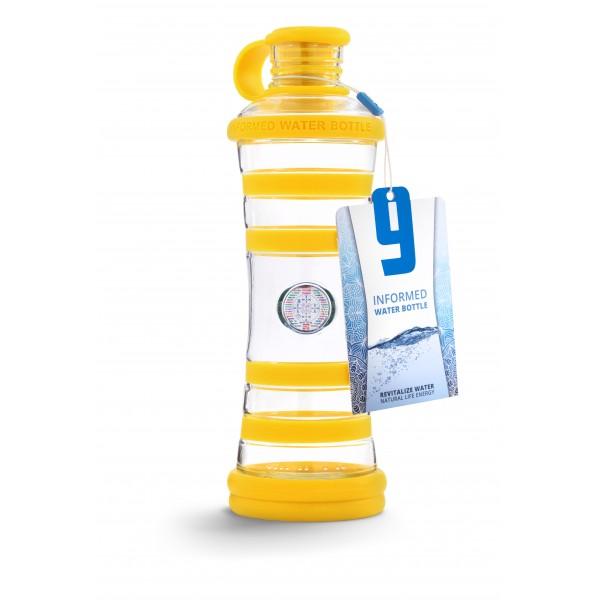 I9 láhev žlutá- světlo 650ml sklo 2